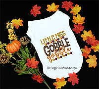 Little Miss Gobble Gobble t shirt