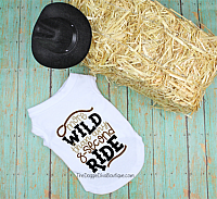 More wild than any 8 second ride dog t shirt