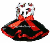 High Heel Shoes tutu dress - More option for tutu and bow color